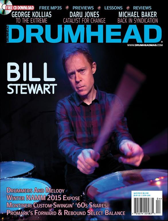 Bill Stewart - DrumHead Magazine